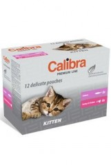 Calibra Cat  kapsa Premium Kitten multipack 12x100g